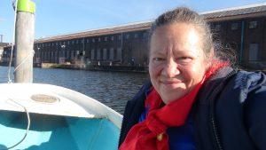 In barca a remi ad Amsterdam